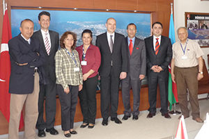 2010 Aliağa-İzmir Türk Petkim Petrokimya Holding A.Ş.'de InfraServ GmbH & Co. Knapsack KG yönetimi ile Türkiye seyahati