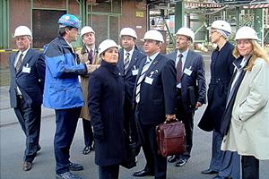 2008 Besichtigung des Chemieparks Hürth-Knapsack