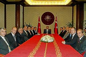 2008 Besuch beim türk. Staatspräsidenten Gül