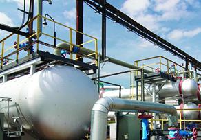 Projekt zur Gewinnung von Kraftstoffen aus Erdgas